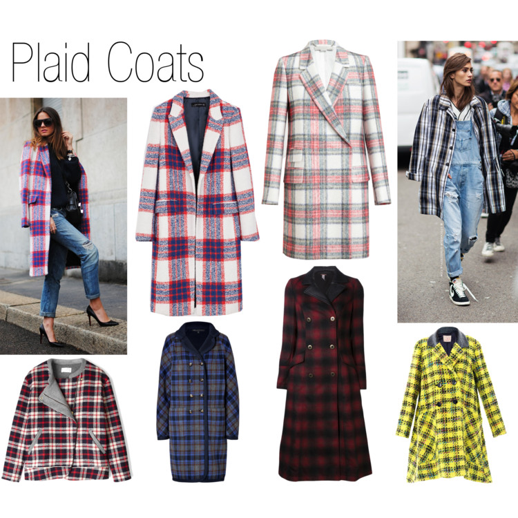 Parade of Coats - Plaid