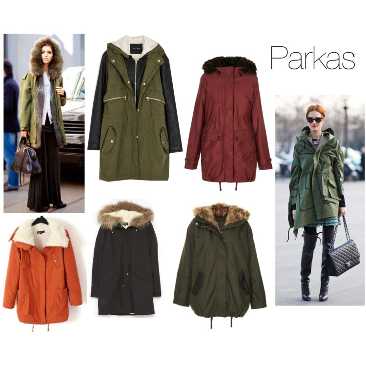 Parade of Coats - Parkas