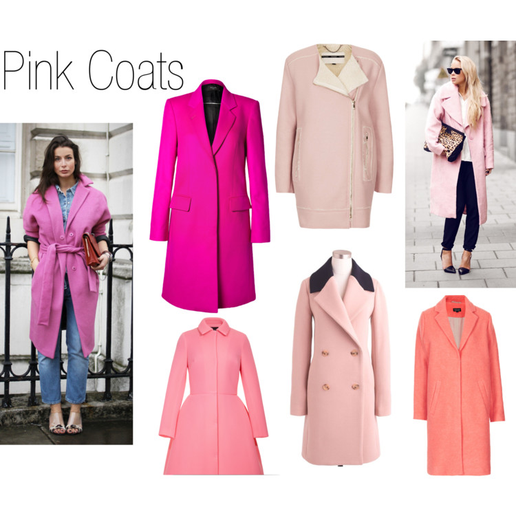 Parade of Coats - Pink Coats