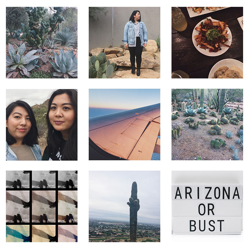 Arizona instagram photo diary | Fashion Ready