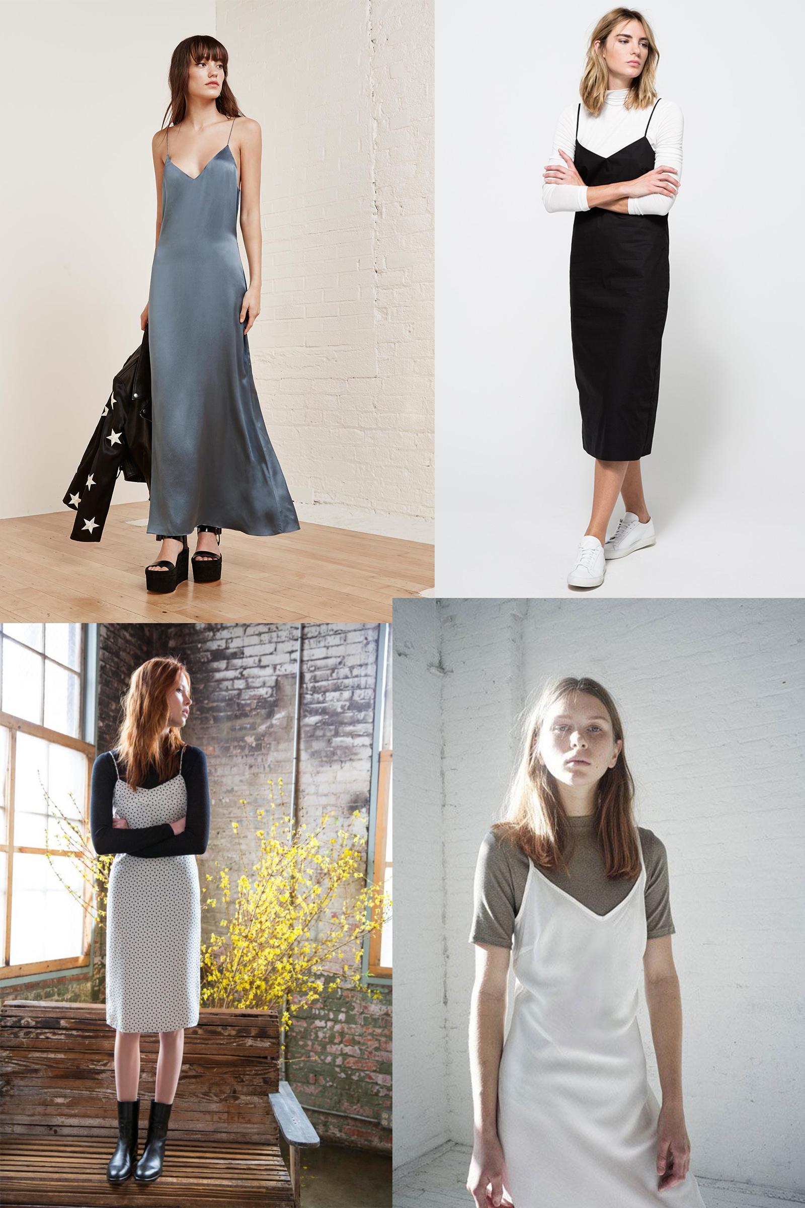 slip dress inspo