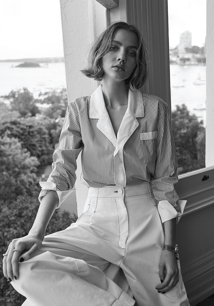 ELLE Australia September 2017 Kerryn Paasila by Christopher Ferguson
